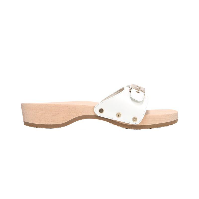 Sandales En Bois, Chaussures Laides, Médecins, Originaux, Rétro, Tissus,  Modern, Cuir Blanc, Look Des Célébrités 483254d962da