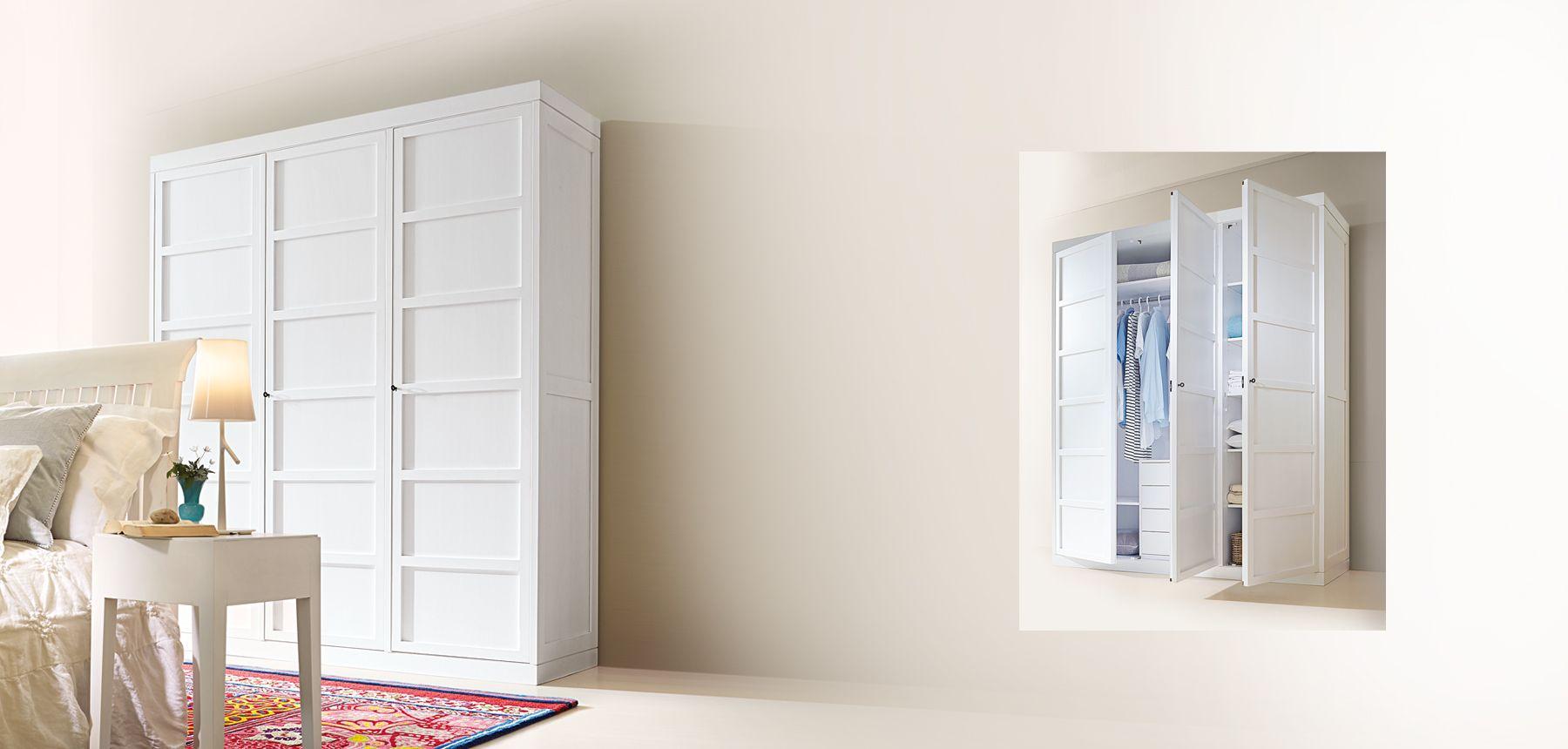 marktex kleiderschrank weiss pinie lasiert dreituerig cabinet i schr nke pinterest. Black Bedroom Furniture Sets. Home Design Ideas
