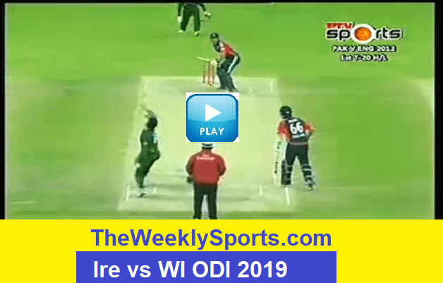 Ireland vs West Indies Live Streaming Live Scorecard Guide