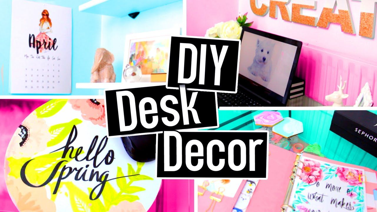 Diy Desk Decorations For Spring Summer Hello Spring Mousepad