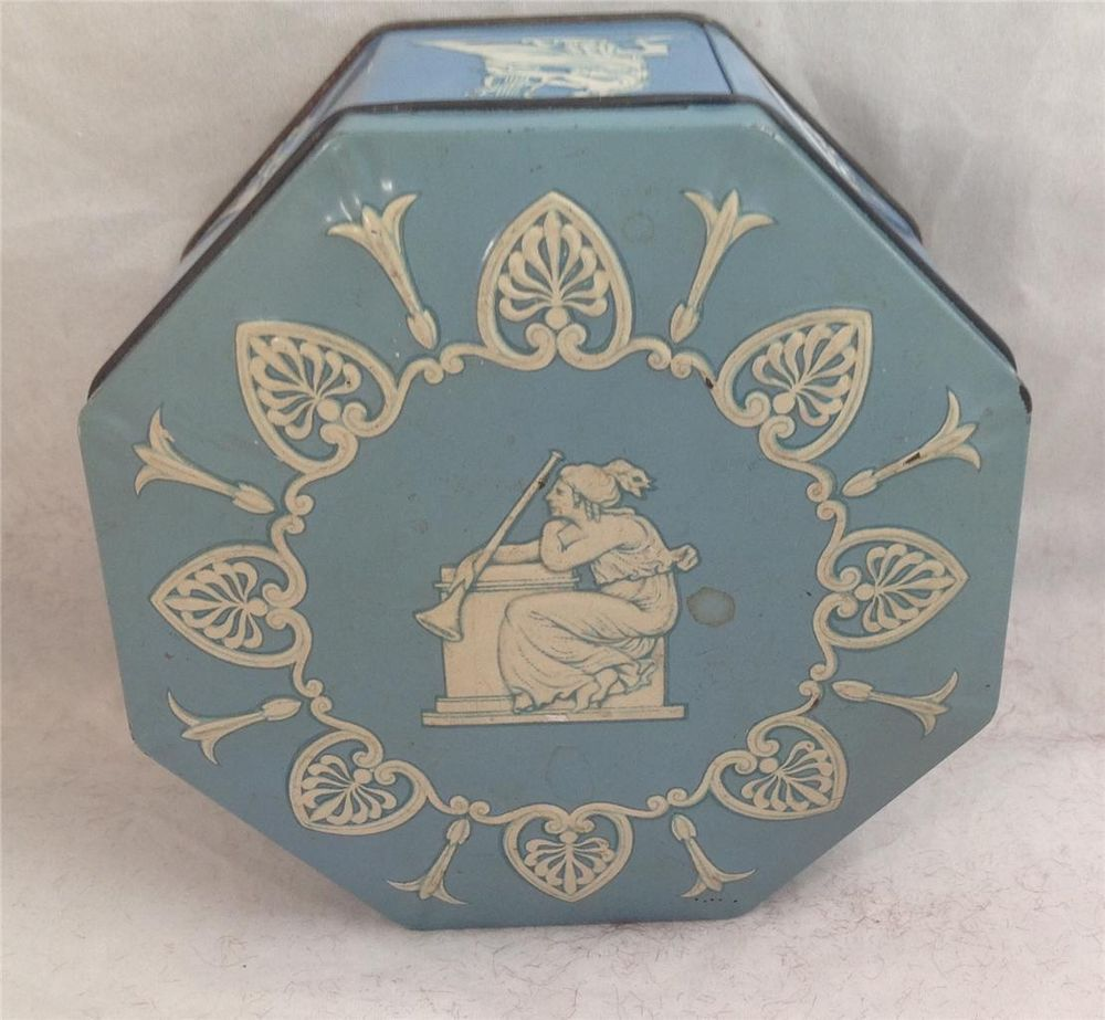 Vintage Howard Candy Co. Toffee Tin, Made in England