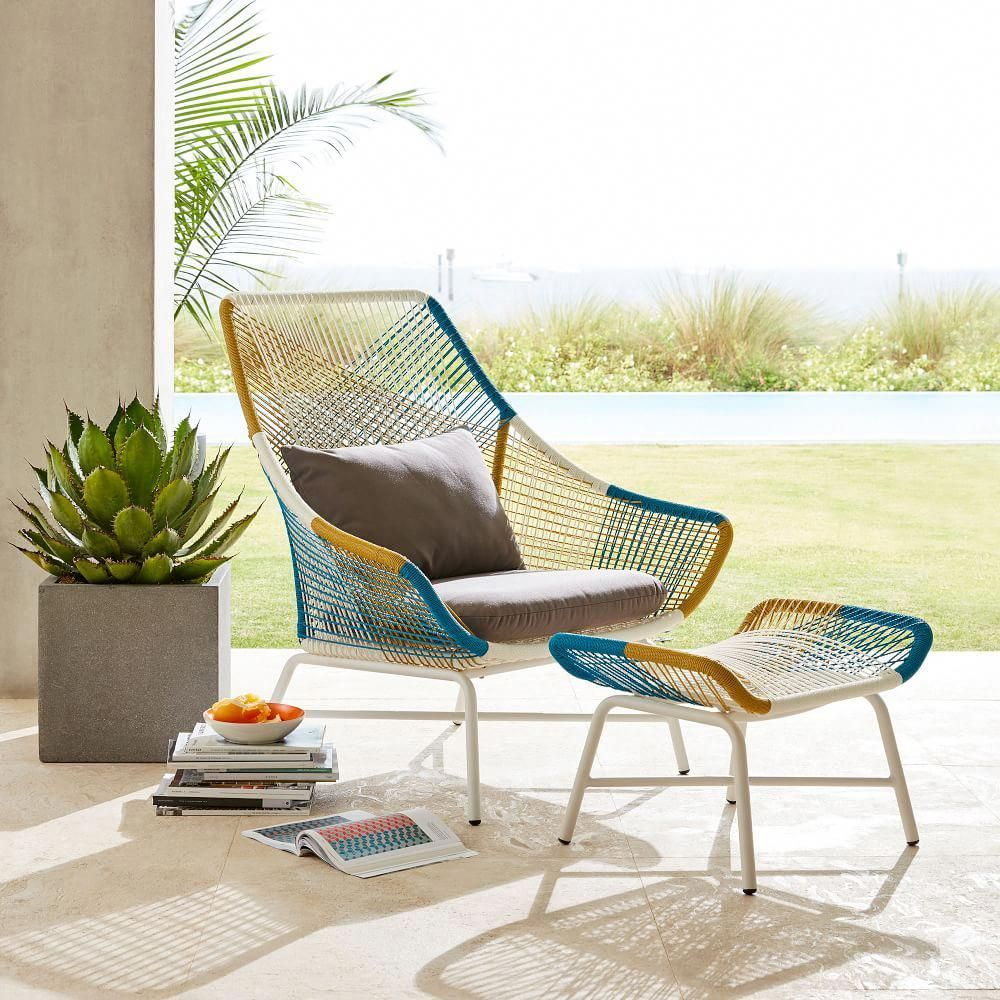 Huron Outdoor Lounge Chair Amp Cushion Large Lounge Chair