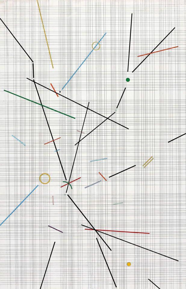 Andrea Bizanzio 1950 World Art Acrylic Primer Thunderstruck