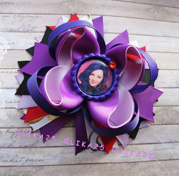 Girl's Accessories Disney Descendants Hair Bow