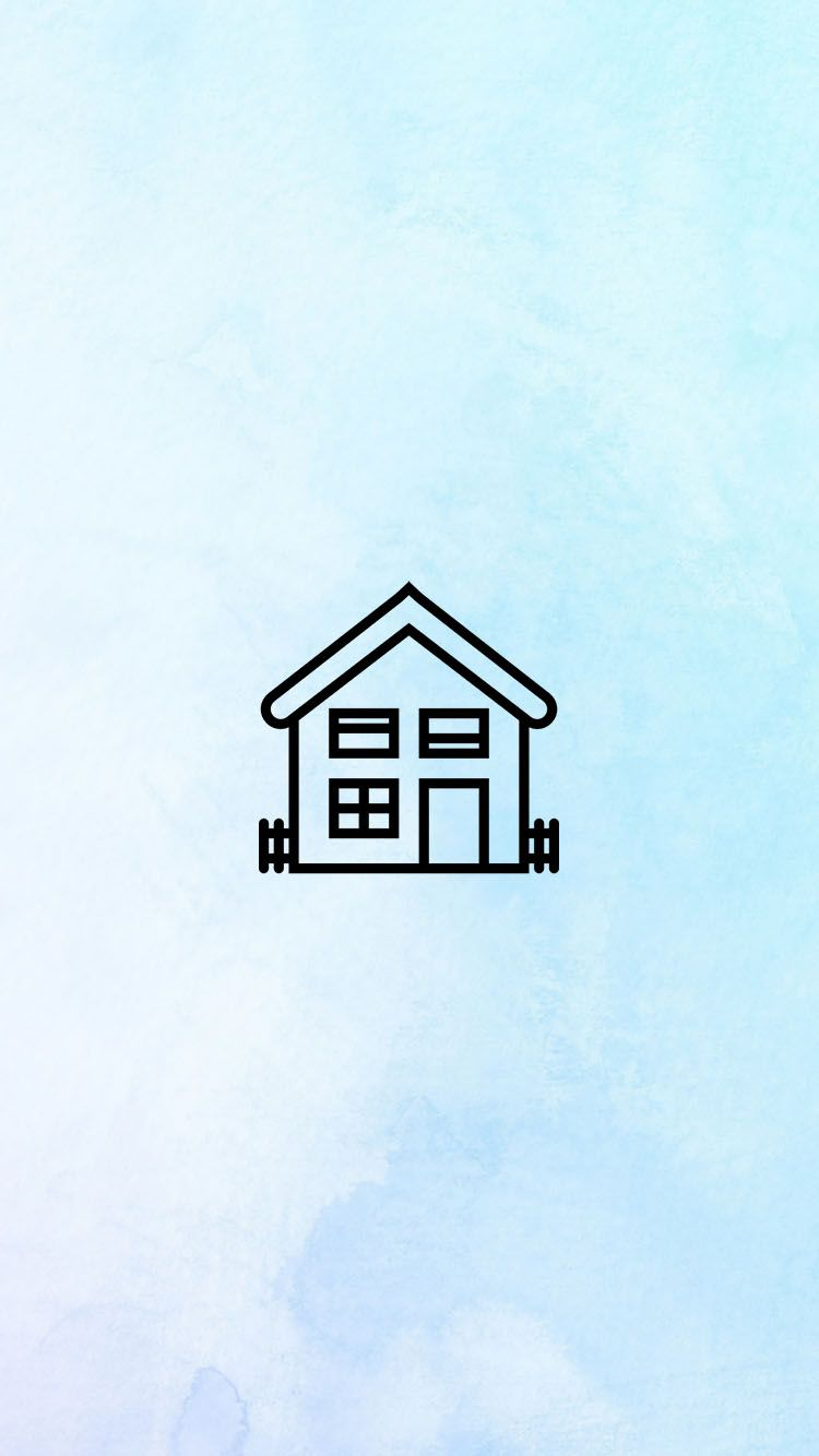 Blue Home Icon : INSTAGRAM, STORY, COVER, WWW.INSTAGRAM.COM/JORDANRENIE, Instagram, Icons,, Story,