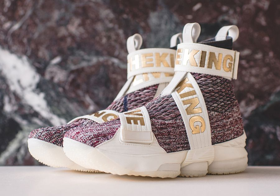 the latest 7d155 774e5 Official images and release information for the KITH x Nike LeBron 15 Long  Live The King