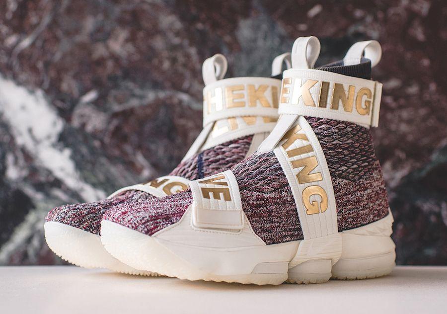 The KITH x Nike LeBron 15 Long Live The