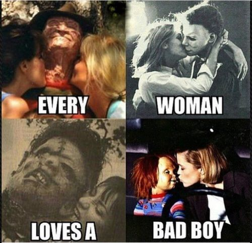 Imagen De Love And Woman Funny Horror Horror Movies Memes Horror Movies Funny