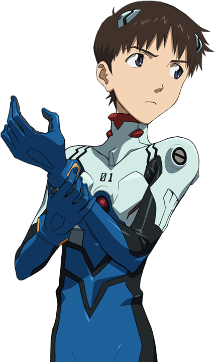 Shinji Ikari Eva Pilot 01 Plugsuit Khara Shunji Suzuki Evangelion 1 0 Neon Genesis Evangelion Evangelion Rei Ayanami