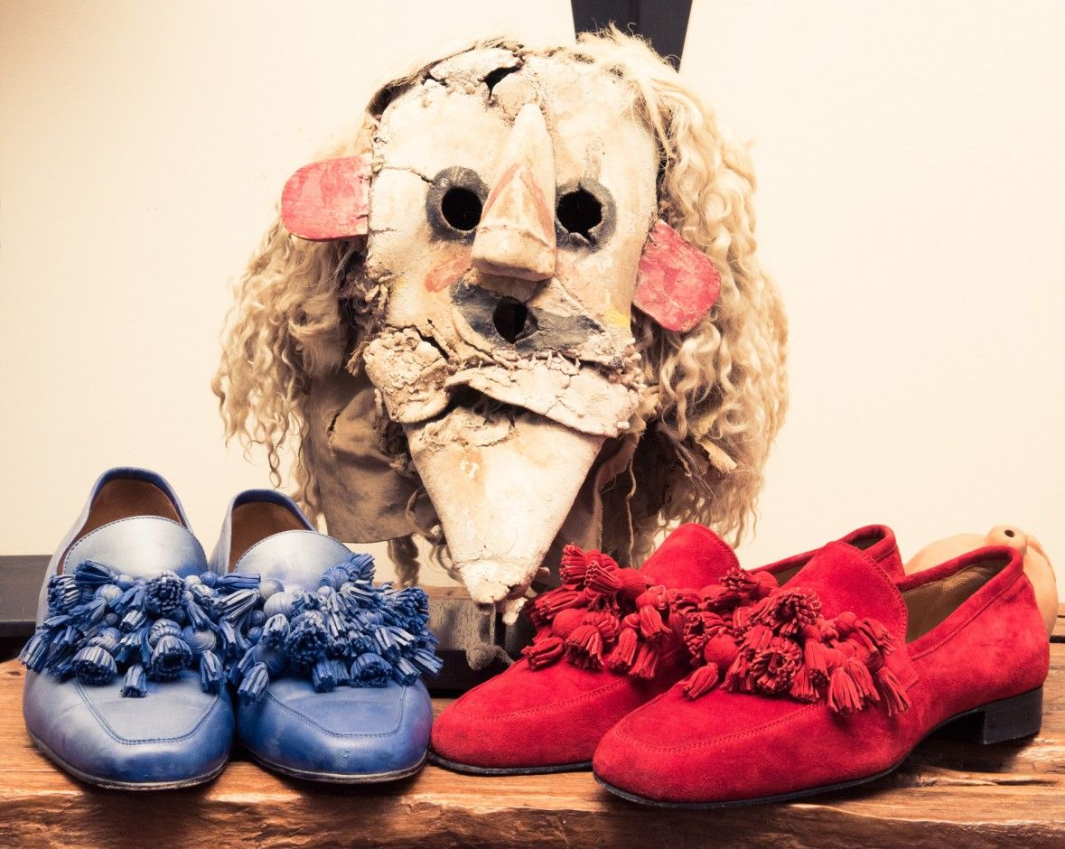 1f3d01ad537 Christian Louboutin Let Us Inside His Paris Apartment For Coveteur s Book  -- Red Bottom