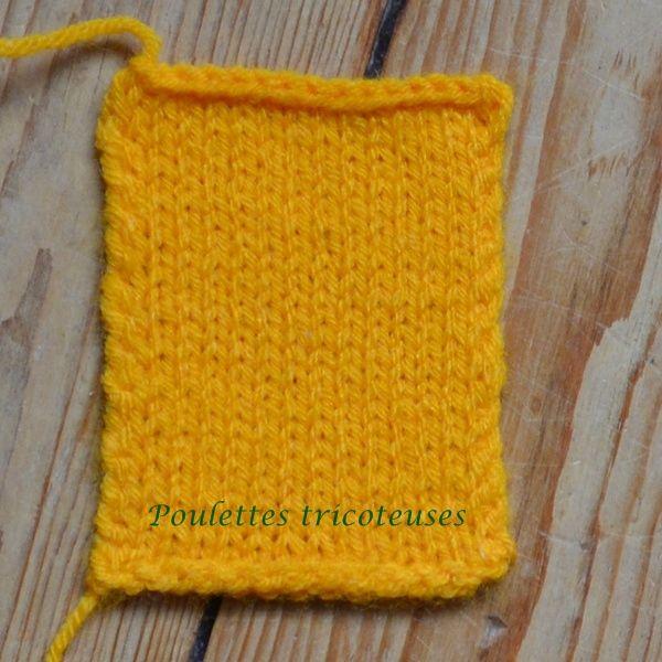 8058b7312643 comment tricoter une echarpe qui ne roule pas Comment Tricoter Une Écharpe,  Tricot Jersey,