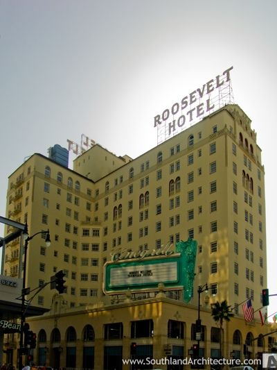 Roosevelt Hotel Hollywood - Google Search