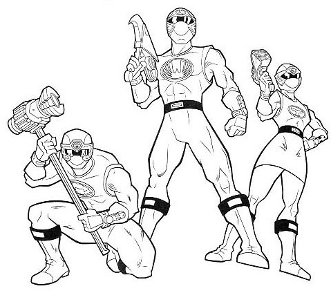 Power Rangers Printable Coloring Pages - http://freecoloringpage ...