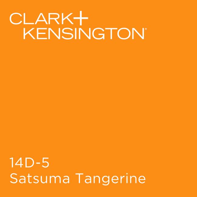 Satsuma Tangerine By Clark Kensington Kensington Modern Color Schemes Exterior Paint Colors