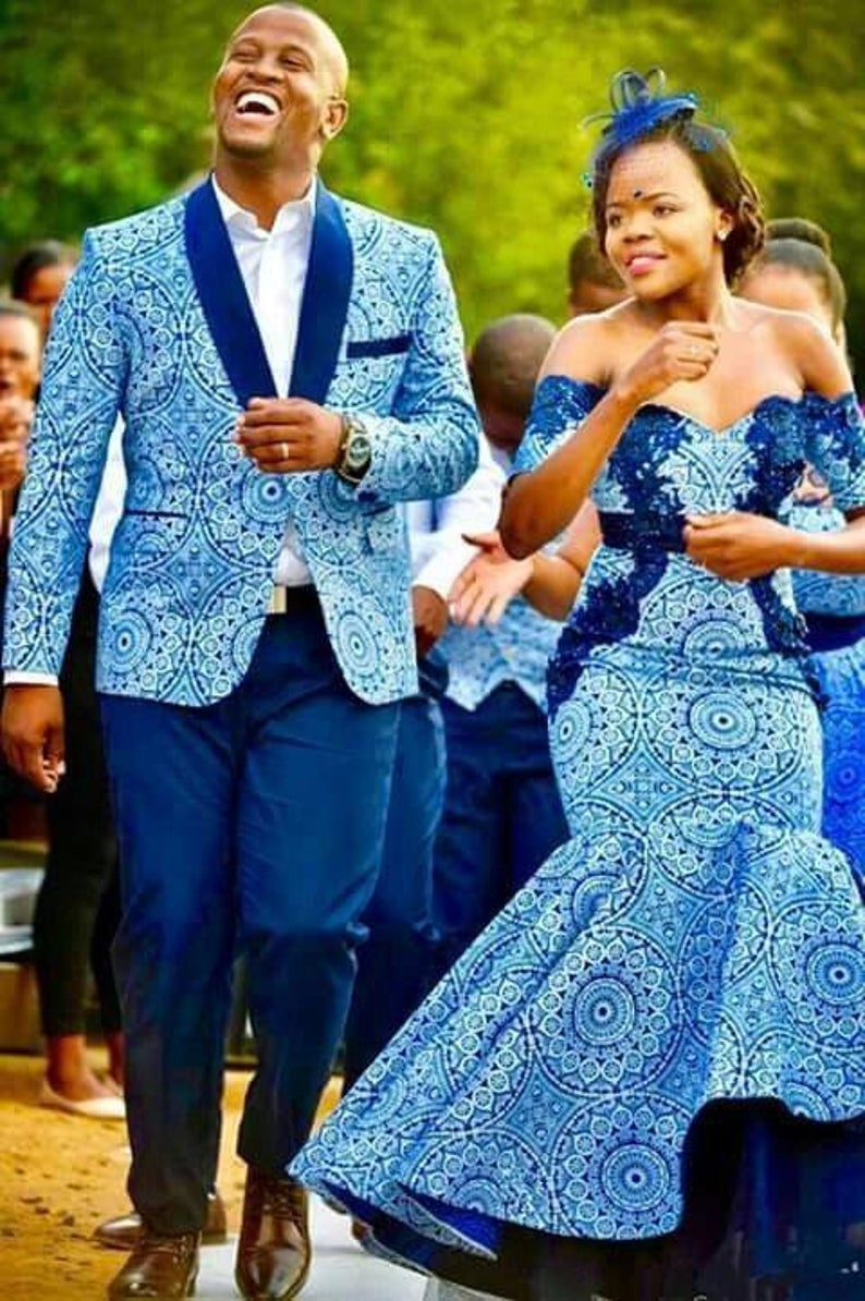 African Prom Dress African Matching Outfits African Family Outfits