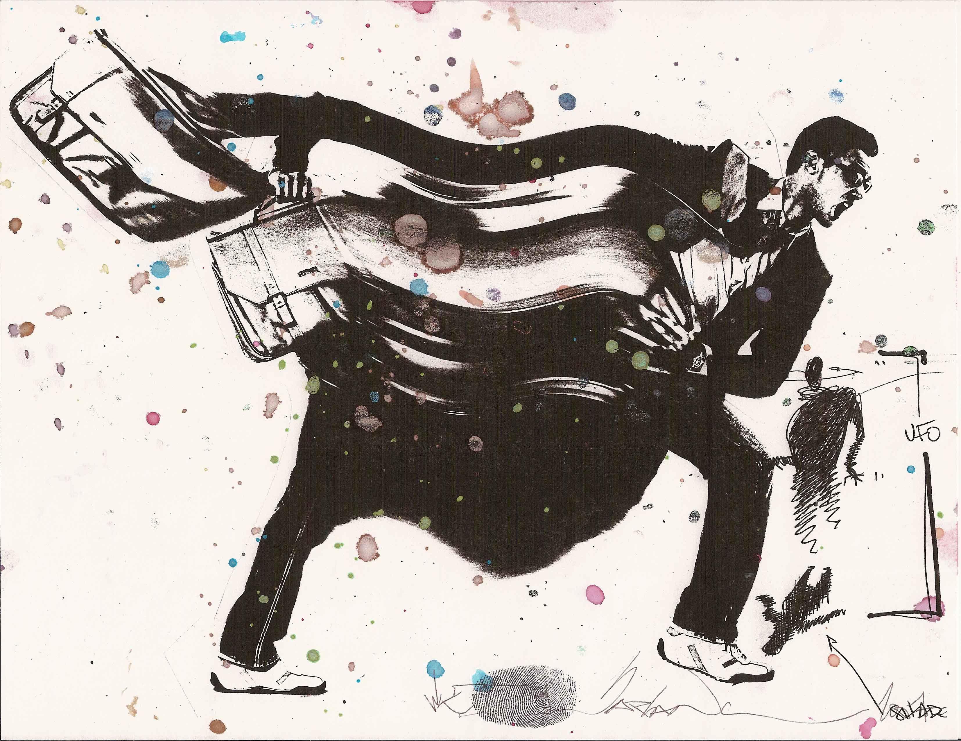 Black white street art wizard wk interact art spotlight