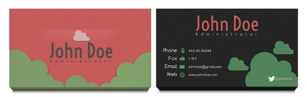 Business Card Templates  Template Shock  Design