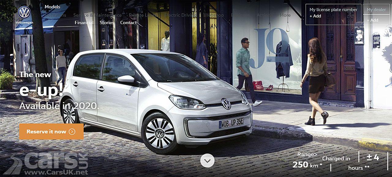 2020 Volkswagen E Up Longer Range Confirmed Cars Uk Volkswagen Cars Uk Vw Up