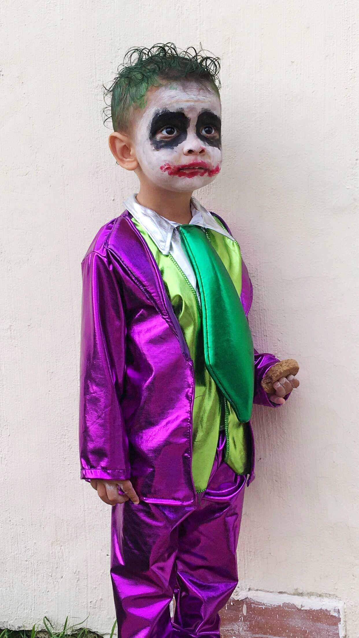 Jocker costume / disfraz de Guason infantil (con imágenes