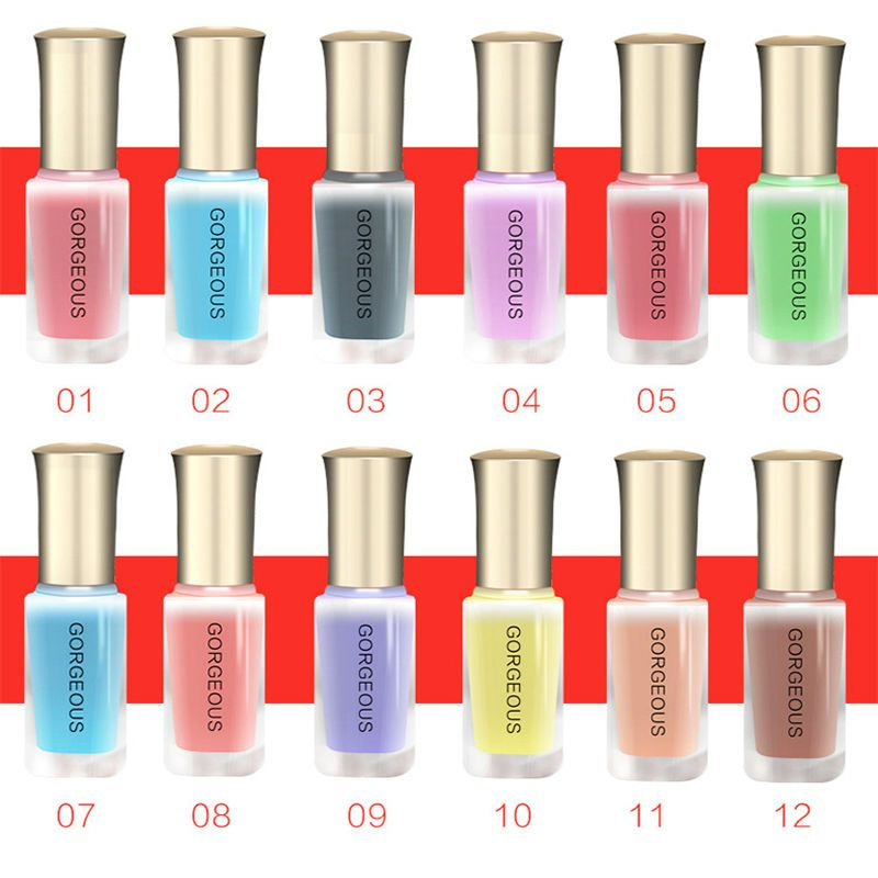 Aliexpress.com : Buy BK Nail Polish Candy Nude Color Quick Drying ...