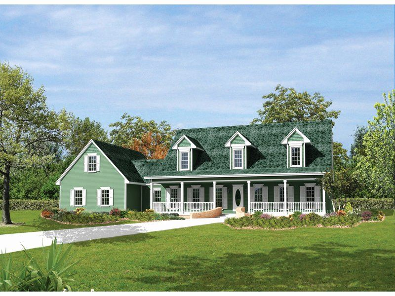New England House Plans Fresh Berryridge Cape Cod Style Home Plan 068d 0012 In 2020 Cape Cod Style House Cape Cod House Cape Style Homes