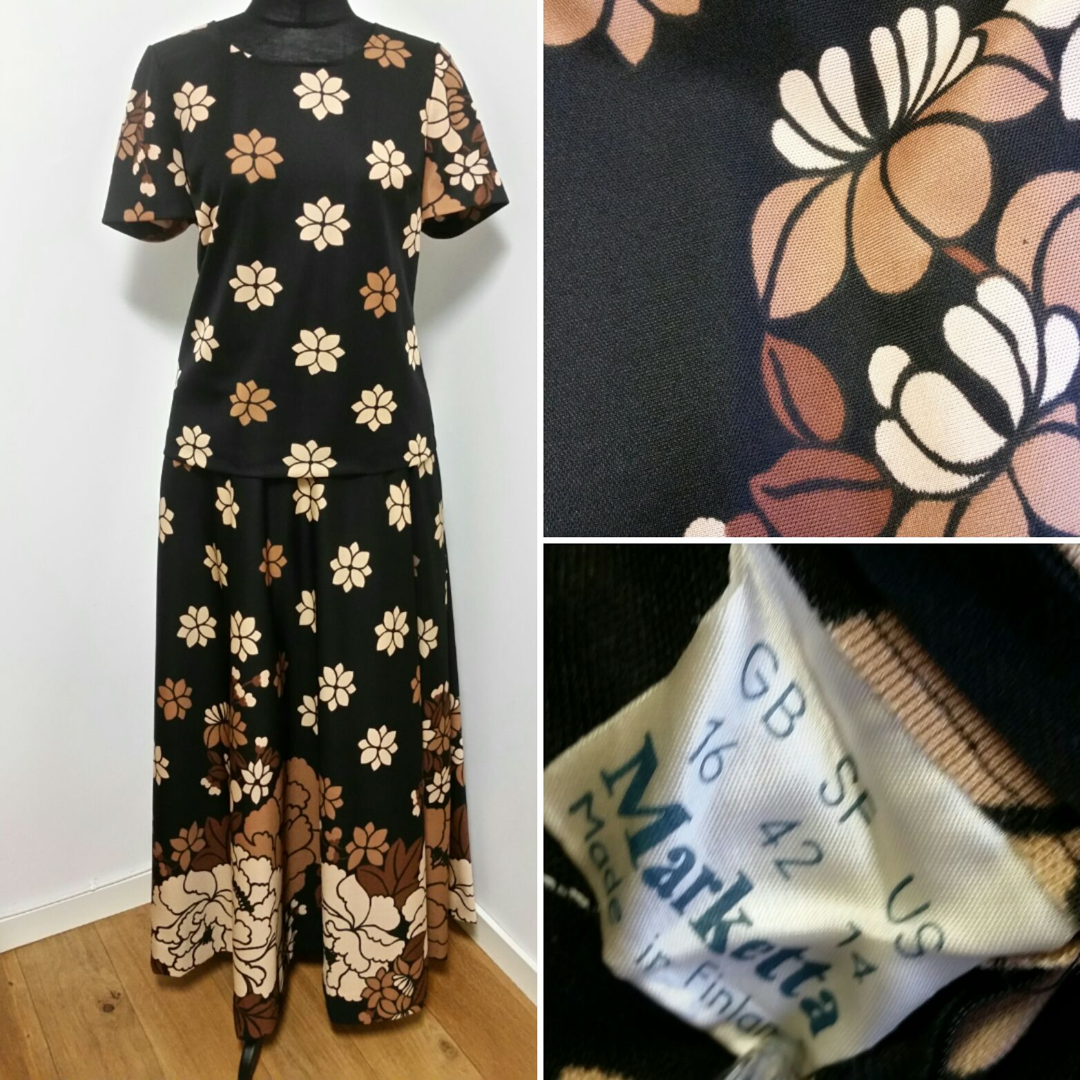 "såld) Dress ""Marketta""  31e228f333c0a"