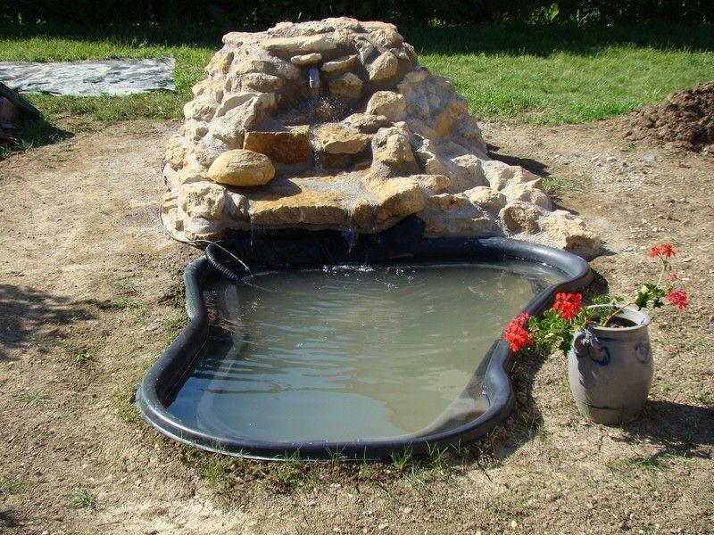 Rocaille cascade bing images jardin pinterest for Jardiland bassin poisson
