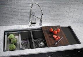 3 Bowl Kitchen Sink Undermount Kitchen Sink Remodel Undermount Kitchen Sinks Kitchen Remodel