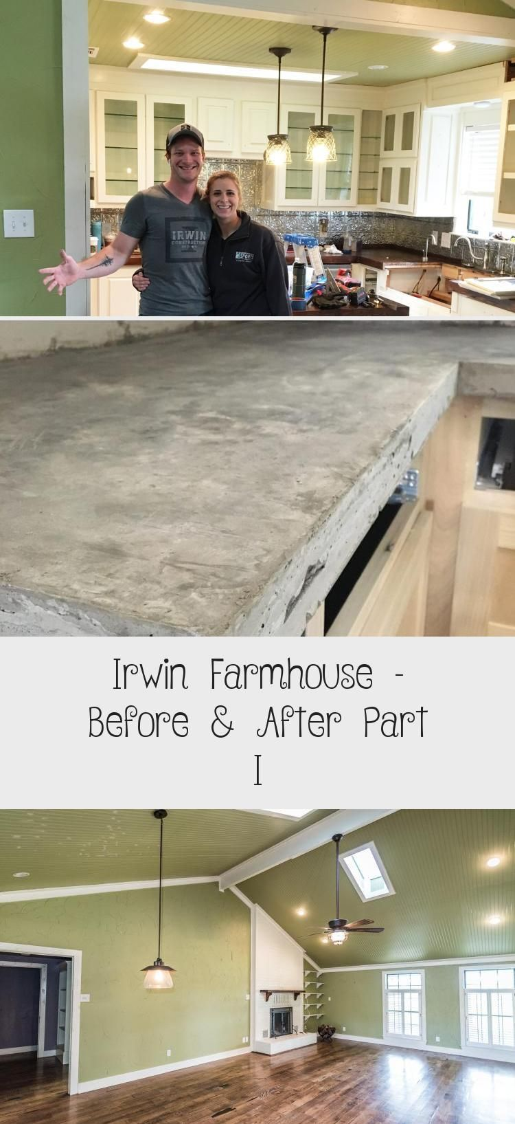 Irwin Farmhouse Before & After Part I Pinokyo in 2020