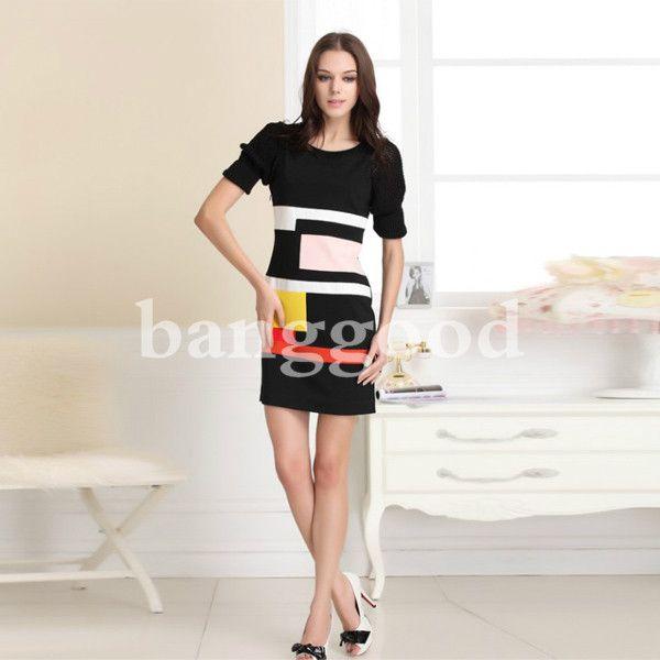 El diseño especial de los vestidos femeninos de Slim hace usted usa atractiva y sexy