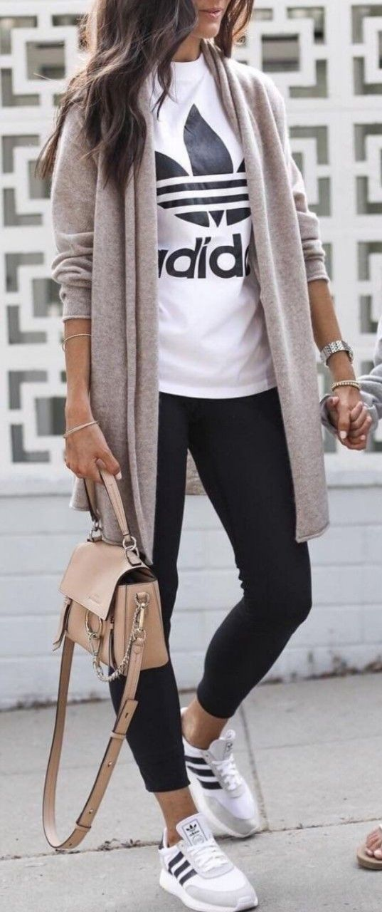 Most Viral Fall Outfit Women Long Cardigan Style Inspiration Casual Sporty Outfits Fall Outfits Women Fashion