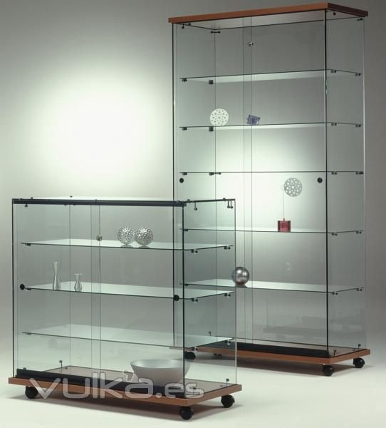 vitrinas de madera para negocio  Buscar con Google  muebles