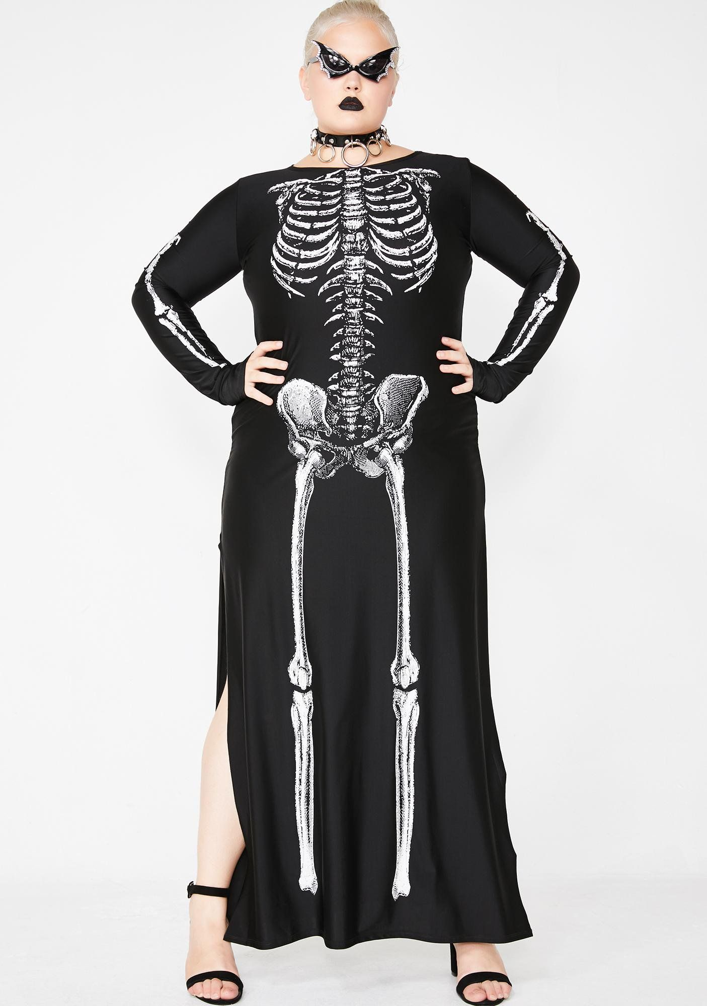 Free, Fast Shipping On Spooky Bone Afied Babe Costume At Dolls