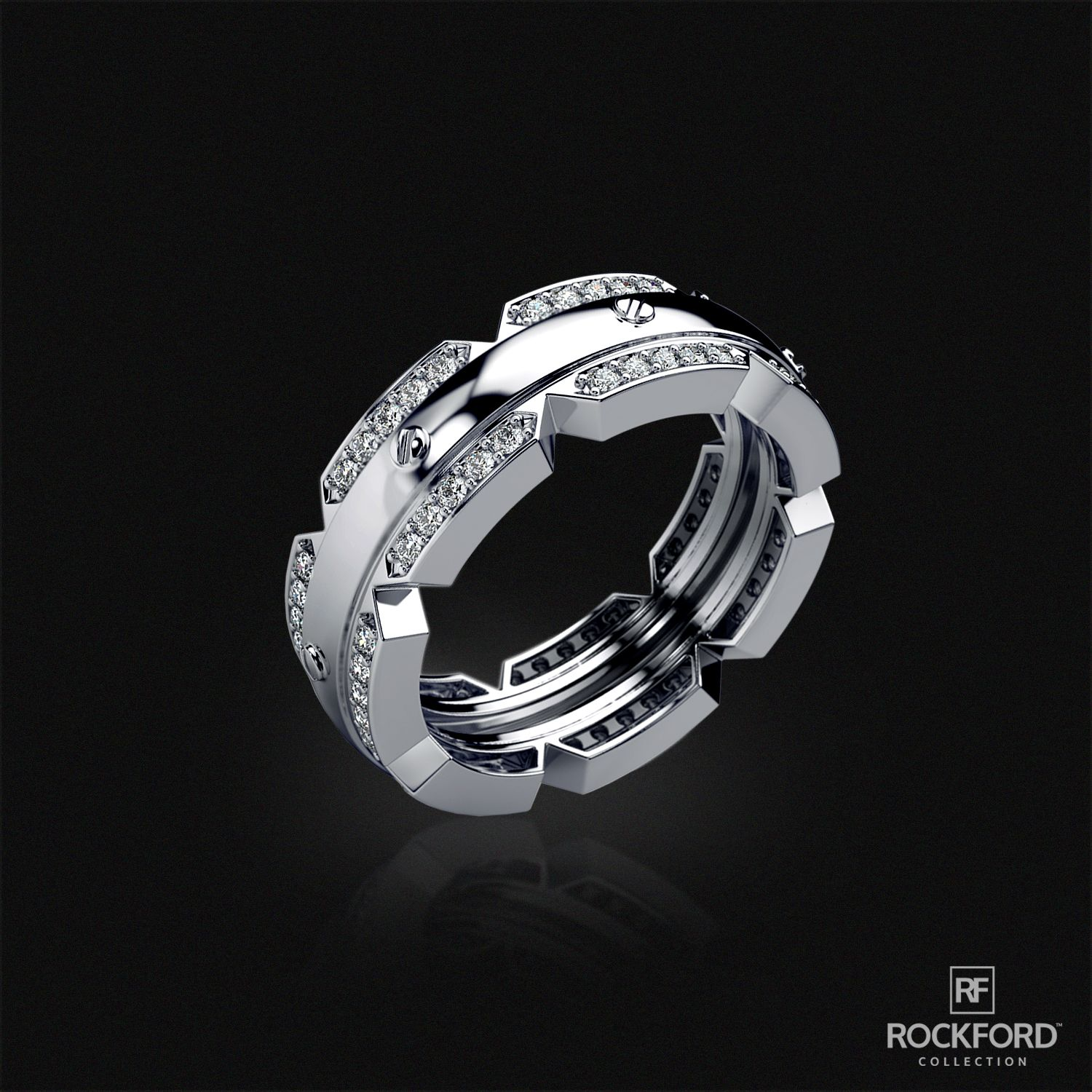 wedding at franklin s modern rockfordcollection style by men shop pin rings classic diamond