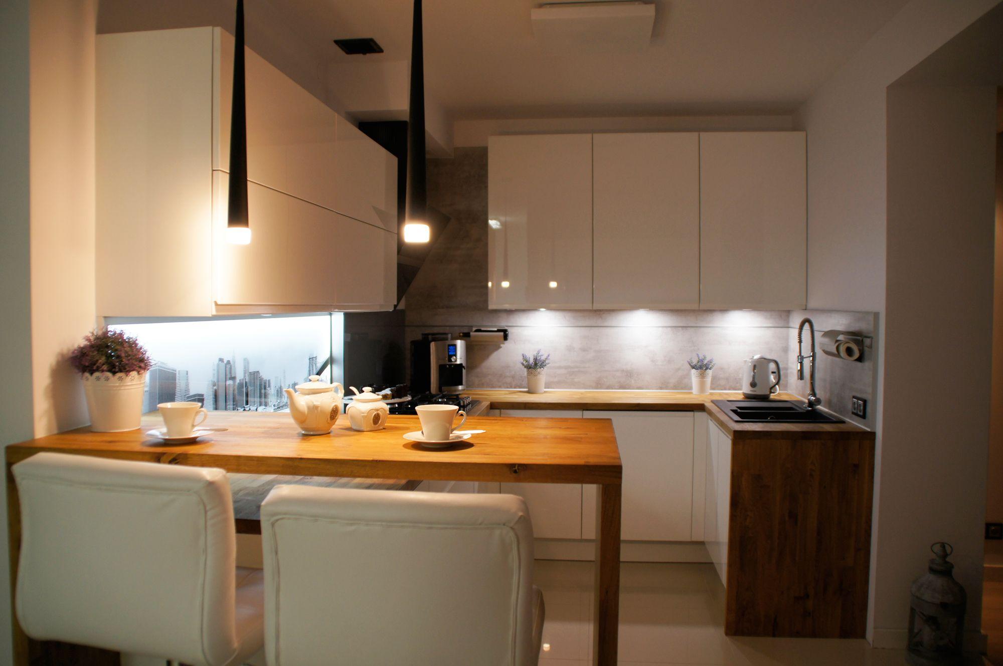 znalezione obrazy dla zapytania bia a kuchnia po ysk z drewnianym blatem kuchnie pinterest. Black Bedroom Furniture Sets. Home Design Ideas