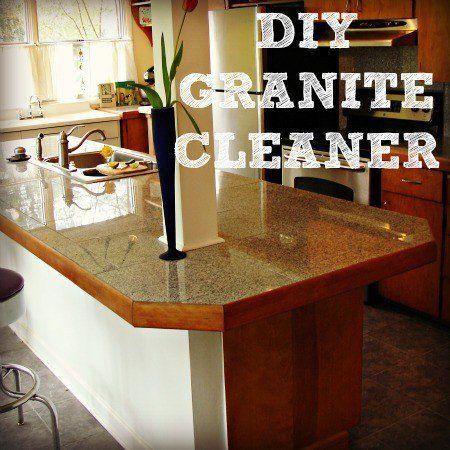 Homemade Granite Cleaner Granite Cleaner Homemade