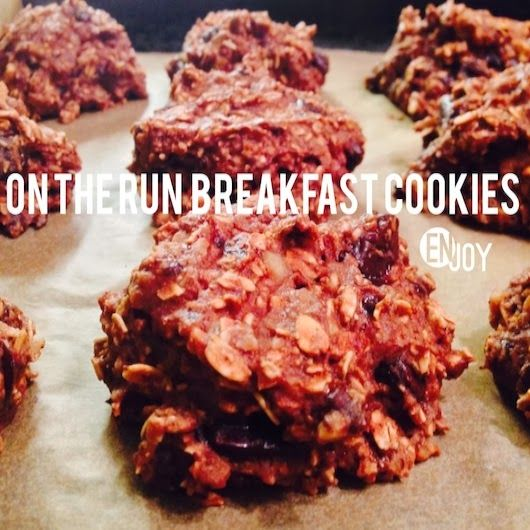 Lettuce Change : Holistic Health: On the Run Breakfast Cookies