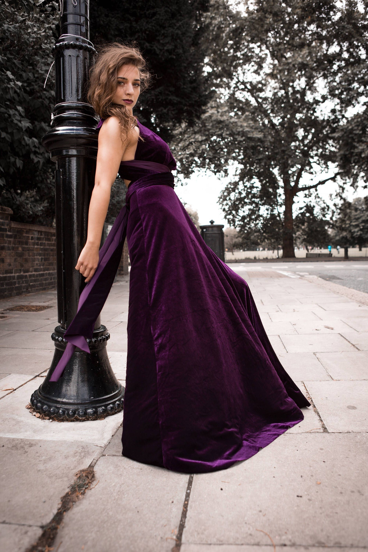 Purple Velvet Dress Infinity Dress Bridesmaid Dress Prom Etsy Purple Velvet Dress Infinity Dress Bridesmaid Bridesmaid Dresses Prom [ 3000 x 2000 Pixel ]