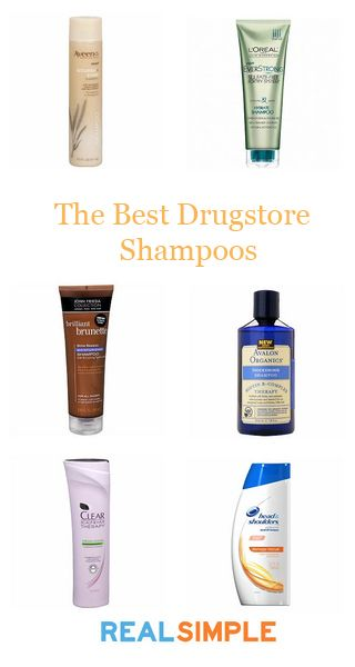 The best shampoo brands from the drugstore.