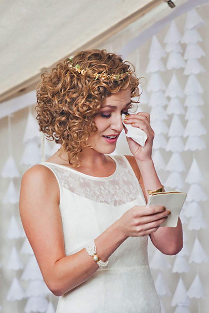 45 Wedding Hairstyles For Short Hair Short Wedding Hair Curly