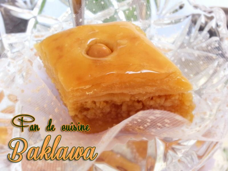 baklawa-gâteau algérien