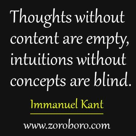 15 Immanuel Kant Motivational Quotes.Philosophy Thought ...