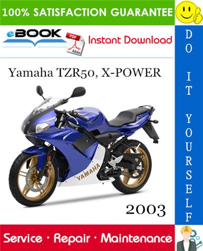 2003 Yamaha Tzr50 X Power Motorcycle Service Repair Manual Repair Manuals Repair Yamaha