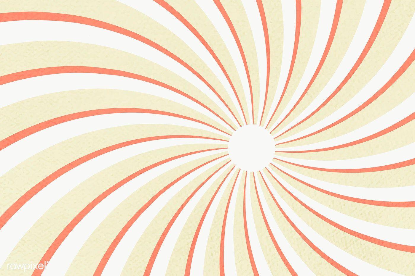 Spiral Sunburst Effect Patterned Background Design Element Free Image By Rawpixel Com Mind Background Patterns Background Design Background