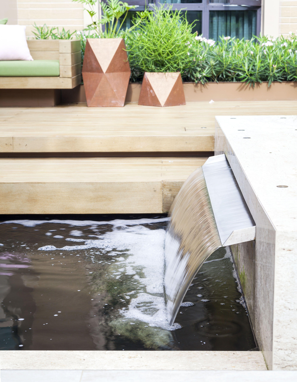 Ging Fountain Wall Outdoor Decor Modern Minimalist Landscape Design