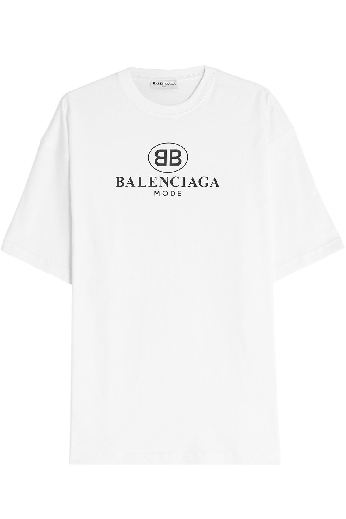 51868b226b50 BALENCIAGA LOGO COTTON T-SHIRT. #balenciaga #cloth # | Balenciaga in ...