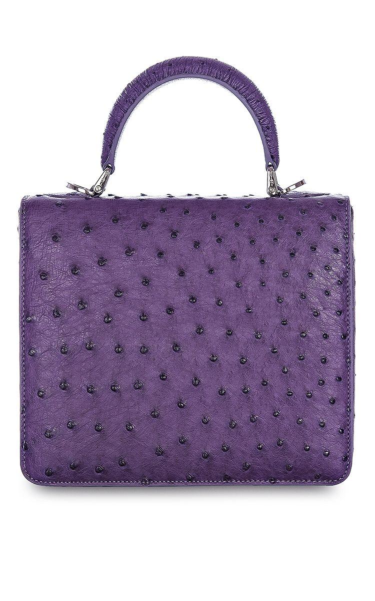 3080a4856a36 Square F Bag In Ostrich by S UVIMOL ( )