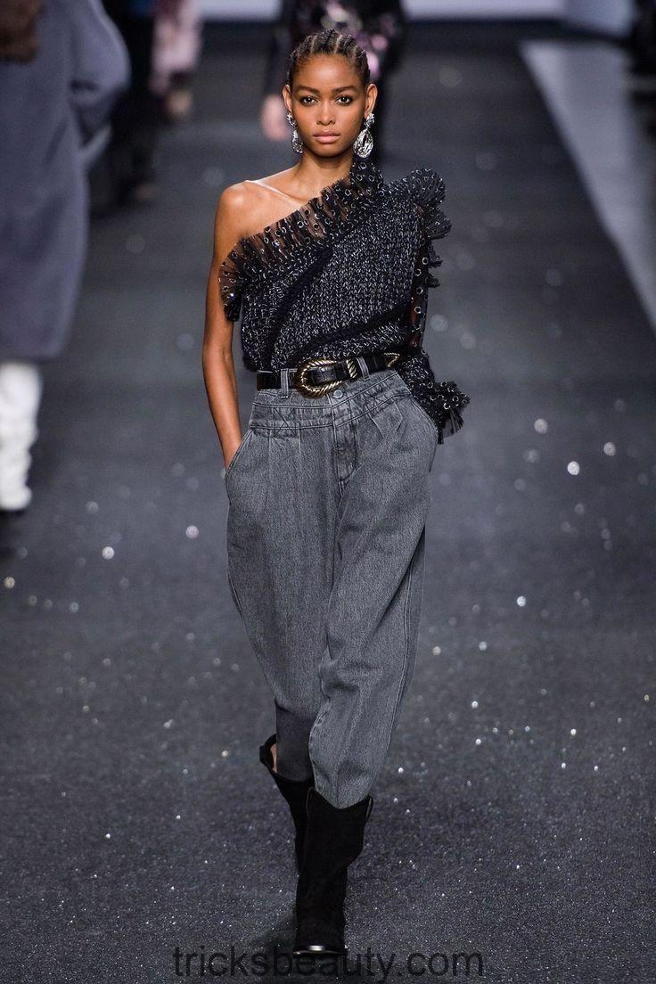 Collezione Ready-to-Wear autunno 2019 Alberta Ferretti, look da passerella, bellezza, modello … – Beauty Tips & Tricks