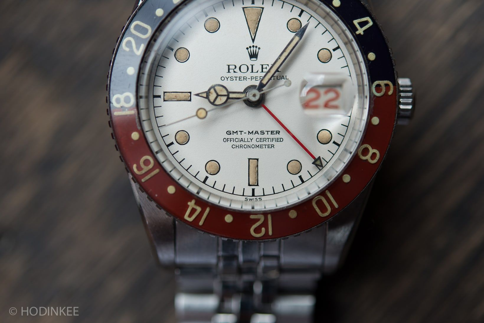 Found: An Example Of The Legendary Albino Rolex GMT-Master Reference 6542 (Live Pics, Thoughts) - HODINKEE