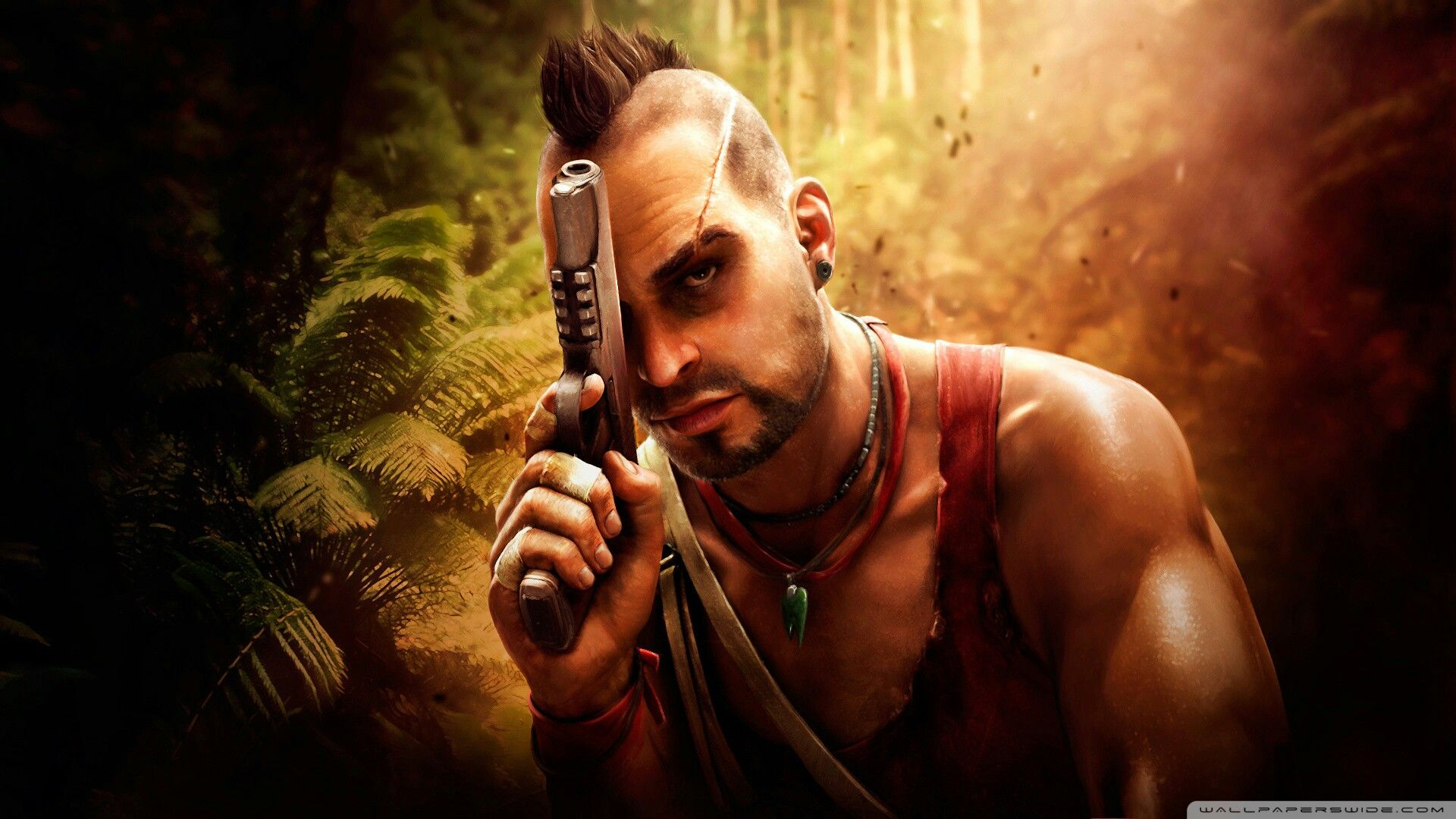 Vaas Montenegro From Farcry 3 Jeux Jeux Video